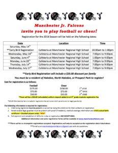 2016 registration flyer